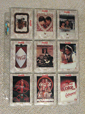 Lot of 41 Coca-Cola trading cards! 1993! Rare!! Very Good Condition!