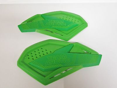 Arctic Cat Green Team Arctic Sno Pro Hand Guards Wind Guards 6639-380
