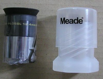NEW 12.4mm Meade Series 4000 Super Plossl telescope eyepiece