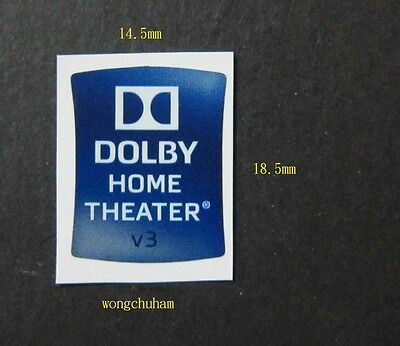 DOLBY HOME THEATER V3 Sticker 14.5mm x 18.5mm