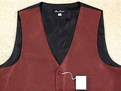 $75 ALAN FLUSSER DRESS/FORMAL  VEST - EXTRA LARGE - NEWwTAGS - FREE SHIPPING