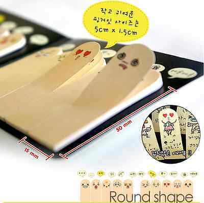 200 Pages Cute Ten Fingers Sticker Post It Bookmark Flags Memo Sticky Notes Pads