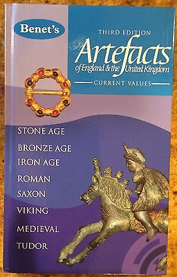 "4th Edition Book   ""Benet's Artefacts"" by Brett Hammond Ancient Artifacts"