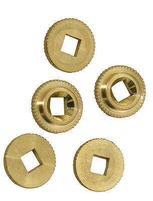 New Regula Cuckoo Clock Hand Bushings with Square Hole - 12 pieces (CC-809)
