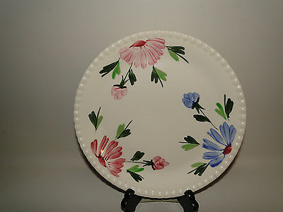 "VINTAGE MOUNT VERNON HAND PAINTED DASY Dinner Plate 9 1/4"", USA"