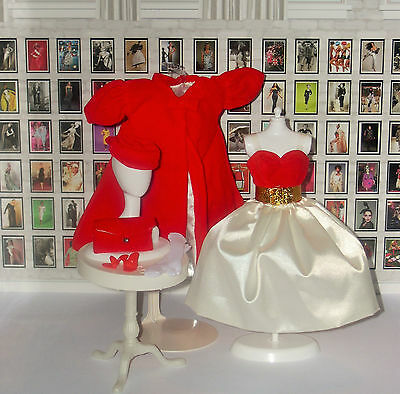 1962 SILKEN FLAME (RED FLARE) Vintage Repro Barbie FASHION ONLY_NEW
