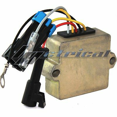NEW VOLTAGE REGULATOR RECTIFIER Fits MERCURY 3CYL 30 HP EFI 4 STROKE 5 WIRE PLUG