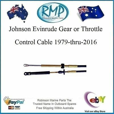 A Brand New Johnson-Evinrude-OMC Control Cable 13ft 1979-2015  # VP83213