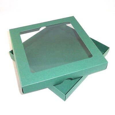 "Gift Box Free Delivery 5/""x7/"" Green Aperture Greeting Card Boxes Choose Qty"