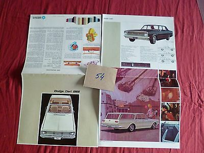 54  / catalogue english text  DODGE DART 1966