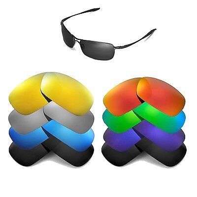 Walleva Replacement Lenses for Oakley Crosshair 2.0 Sunglasses-Multiple Options
