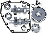 S&s Cycle 610G Complete Gear Drive Camshaft Kit 07-Up Twin Cams Suit Harley