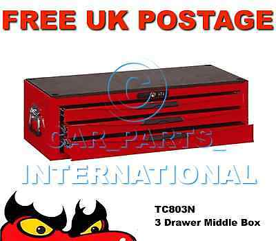 Teng Tools TC803N 3 Drawers Middle Tool Storage Box