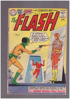 Flash # 119  The Mirror Master's Magic Bullet !  grade 4.0 scarce book !!