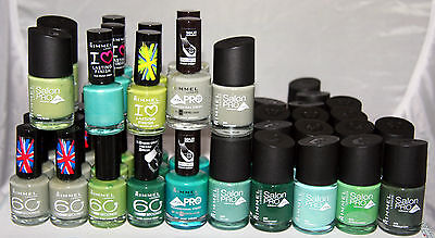 49 x Rimmel Nail Polish   Assorted shades   RRP £200+   Wholesale Clearance  