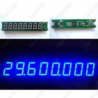 0.1-60MHz 20MHz ~2.4GHz RF Singal Frequency Counter Cymometer LED Tester Meter B