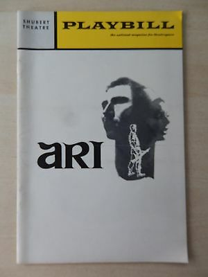 December 1970 - Shubert Theatre Playbill - Ari - David Cryer - Constance Towers