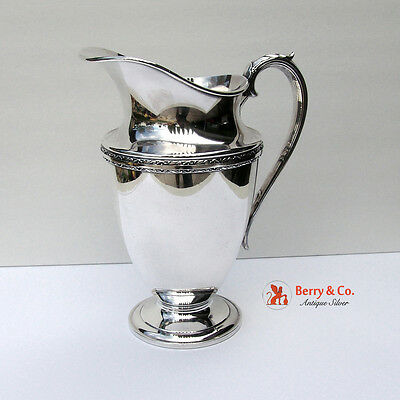 Exquisite Pitcher Silverplate International 1940