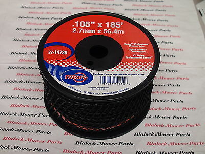 14730 BLACK VORTEX PROFESSIONAL WEED EATER TRIMMER LINE.105 x 185' SMALL SPOOL