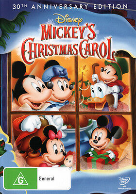 Mickey's Christmas Carol (30th Anniversary Edition)  - DVD - NEW Region 4