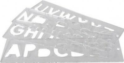 Trend TEMP/LUC/57 Template set letters 57mm uppercase