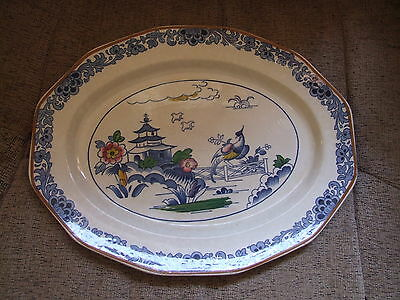 """BOOTHS SILICON CHINA """"PAGODA"""" - PLATE"""