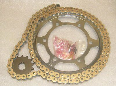 Pair of JT Sprockets and a JT Gold Chain  Yamaha TDM850 91 - 95 3VD Sprocket Kit