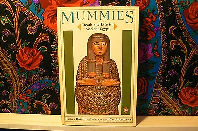 Vintage Very Good Edition Mummies Death And Life In Ancient Eqypt Paterson