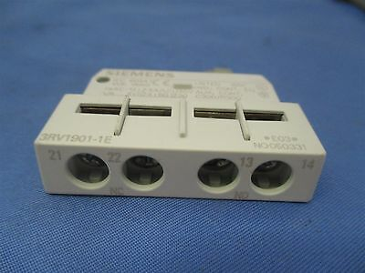 Siemens 3RV1901-1E Auxiliary Contact Switch