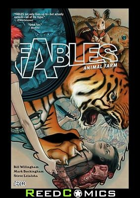FABLES VOLUME 2 ANIMAL FARM GRAPHIC NOVEL New Paperback Collects Issues #6-10