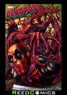 DEADPOOL VS CARNAGE GRAPHIC NOVEL New Paperback Collects Issues #1-4