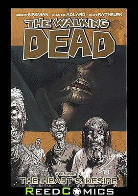WALKING DEAD VOLUME 4 THE HEARTS DESIRE GRAPHIC NOVEL Paperback Collects #19-24