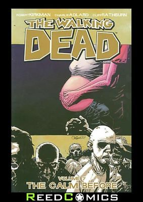 WALKING DEAD VOLUME 7 THE CALM BEFORE GRAPHIC NOVEL Paperback Collects #37-42
