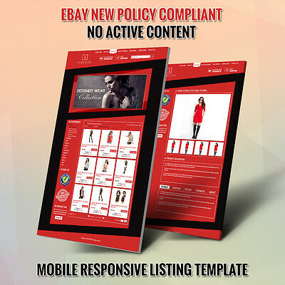 Professional eBay Store Template and Listing Auction Template - Combo Package