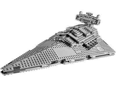Lego Star Wars 75055-1: Imperial Star Destroyer No Minifigures/Box - Nuovo