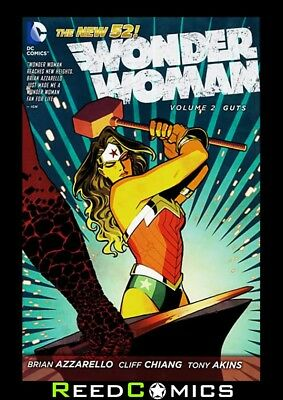 WONDER WOMAN VOLUME 2 GUTS GRAPHIC NOVEL New Paperback Collects Issues #7-12