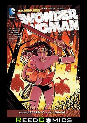 WONDER WOMAN VOLUME 3 IRON GRAPHIC NOVEL New Paperback Collects (2011) #13-18