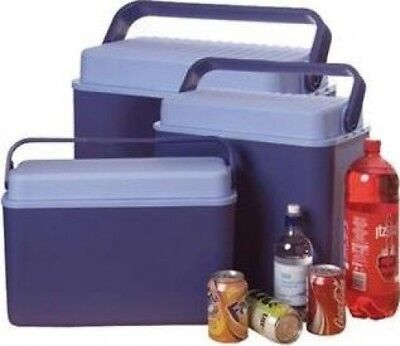 Home Hardware Beach / BBQ Barbecue Coolbox with Large Carry Handle in Blue | 12L