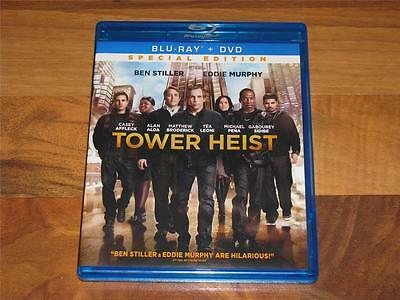 Tower Heist (Blu-ray/DVD, 2012, 2-Disc Set, Special Edition; Includes DC)