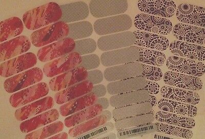 Jamberry Nail Wraps Half Sheets - Hostess, SSE, Stylebox and Retired