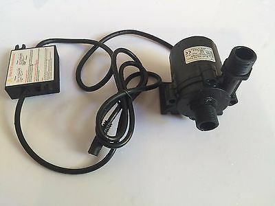 24V DC Micro Water Pump Submersible Water pump, 1200LPH, 15M For Water Cycle SYS