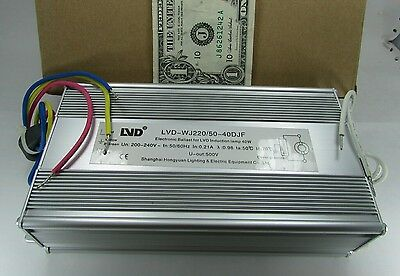 New LVD 40W 500V Induction Lamp Ballasts 200-240V LVD-WJ220/50-40DJF Grow Light