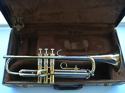 1965 F.E. Olds Special Tricolor Trumpet - Smooth Valves - Really Sweet Horn