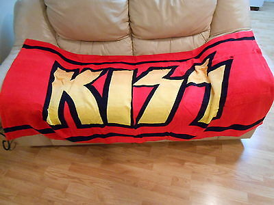 KISS -  KISS LOGO BEACH TOWEL **  2006' KISS Catalog Ltd
