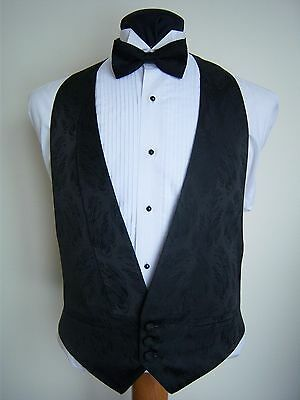 Black After Six Featherbright Formal Vest - Excelent used condition - fb