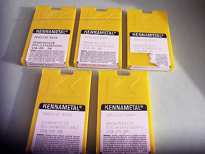 New 50 Pcs - SPG323T  Grade K090 Ceramic Inserts Kennametal