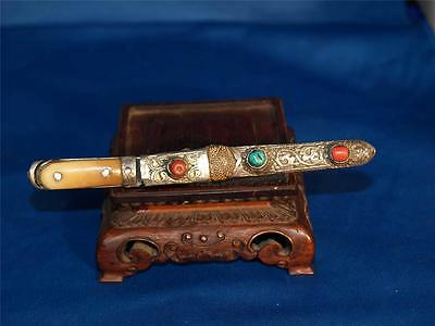 TIBET FINE ANTIQUE KNIFE