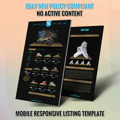 Professional eBay Store Design Template and Listing Auction HTML Templates