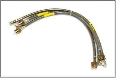 Land Rover Discovery 1  Std Size Stainless Steel Brake Hose Set New