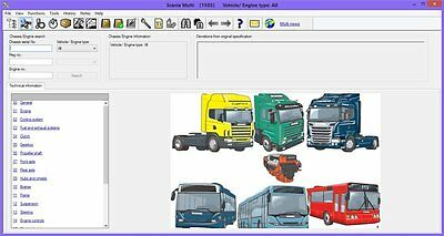 Scania Multi 1603 03 2016 Epc Electronic Parts Catalogue Workshop Manual